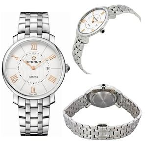 Eterna Artina-SALE!  Only $195~ Lady SS Watch